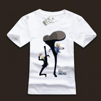 Funny Sanji Design 100% Cotton T-shirts
