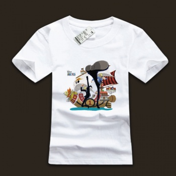 Cool One Piece Sanji White Tshirts For Man