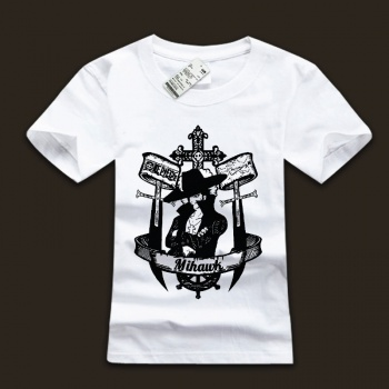 One Piece Mihark White T-shirts For Man
