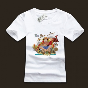 Monkey D Luffy Cotton Tee Shirts Cool