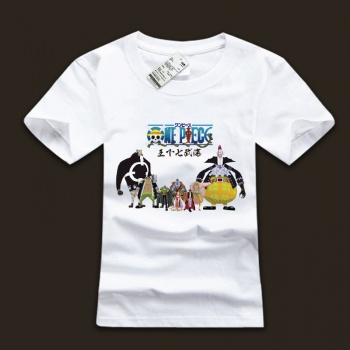 One Piece Charaters Design T-shirts For Boys