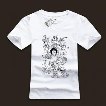 One Piece Straw Hat Pirates Family T-shirts