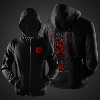 DOTA 2 Shadow Fiend Hoodies Black Sweatshirt For Mens