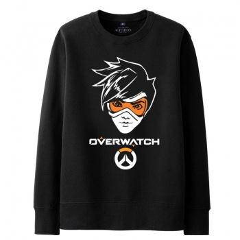 Overwatch OW Tracer sudadera negro suéter