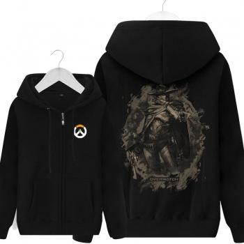 Overwatch Mccree sudadera negro suéter