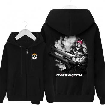 Overwatch Zarya Sweatshirt Blizzard OW Mens black Hoodie