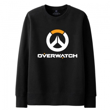Overwatch Overwatch Logo Sweater Mens black Hoodies