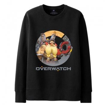 Overwatch Game Torbjorn Hoody For Men black Hoodie