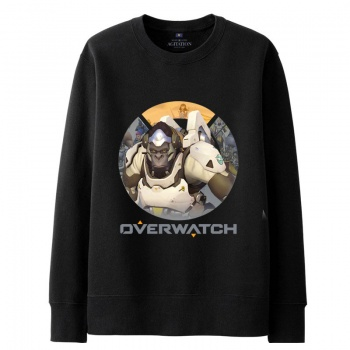 Overwatch Winston Hoodie For Young black Sweat Shirt