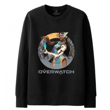 Overwatch Blizzard Symmetra Sweat Shirts Mens black Hoodie