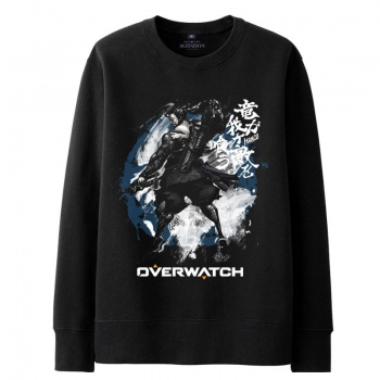 Over Watch Hanzo Hoodie For Boys White Sweater