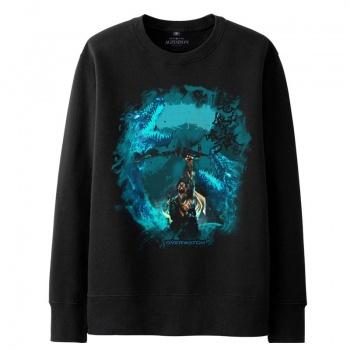 Overwatch Hanzo Sweater Mens black Hoodies