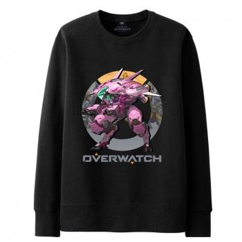 Overwatch D.Va Hooded Sweatshirts Men black Hoodie