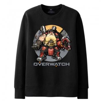 Overwatch Winston sudadera negro suéter