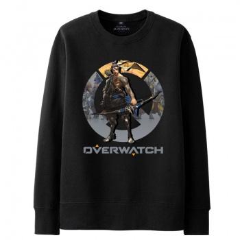 Overwatch Hanzo sudadera para hombre negro Hoody