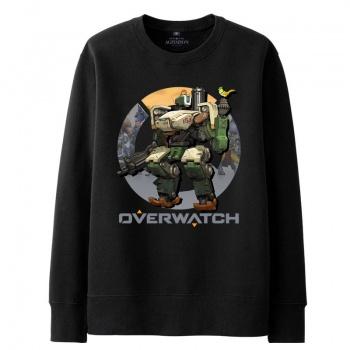 Blizzard Overwatch bastión sudadera negro suéter