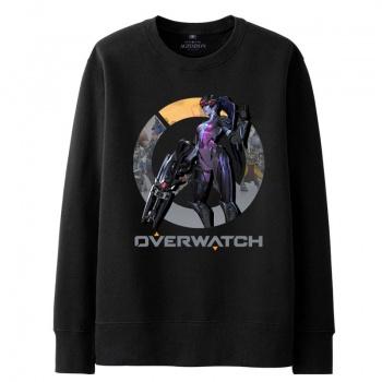Overwatch Zenyatta sudadera negro suéter