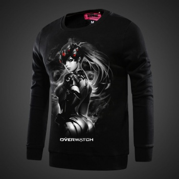 Overwatch Widowmaker Sweatshirt Men black Hoodie