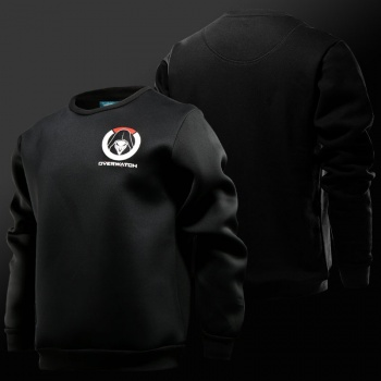 Blizzard Overwatch Logo Reaper Hoodies Mens 3xl Black Sweatshirt