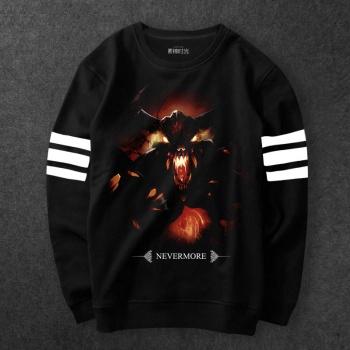 Dota Characters Shadow Fiend Sweatshirt Men black Hoodies
