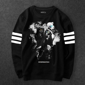 Overwatch Hanzo Hoodie Mens Black Blizzard OW Sweatshirts