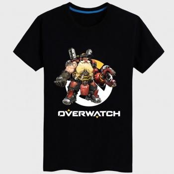 Overwatch Torbjorn Tee Shirt Unisex black T-shirts