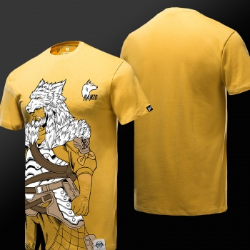 New Design 3D Overwatch Hanzo T-Shirts Mens Yellow OW Game Tee Shirt