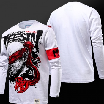 Cool Design LOL Lee Sin Long Sleeve Tshirts